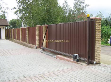 Откатные ворота во Владимире и Владимирской области