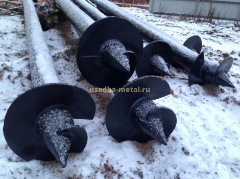 Винтовые сваи во Владимирской области