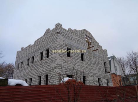 Комплексное строительство 4х этажного административного здания