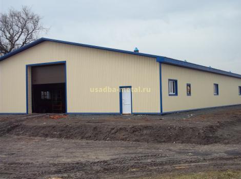 Строительство ангаров во Владимирской области под ключ