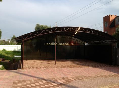 Автонавесы из поликарбоната во Владимирской области