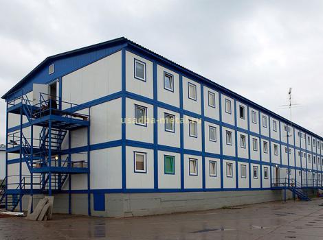 Модульные здания из блок-контейнеров