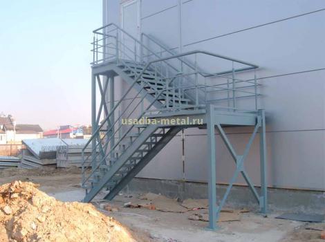 Металлические лестницы в Кольчугино, Киржаче, Александрове, Юрьев-Польском