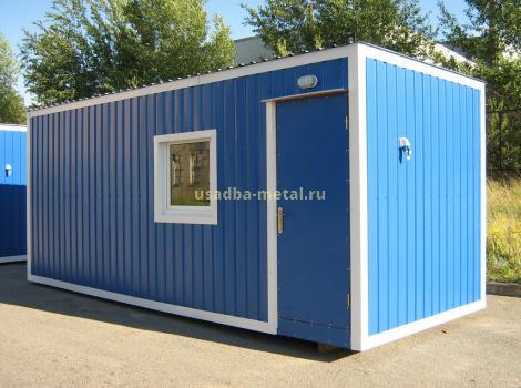 Металлические вагончики и бытовки во Владимирской области