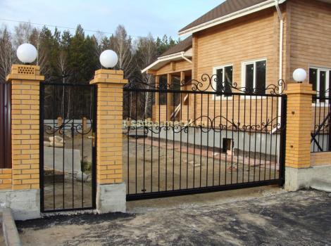 Металлические ворота и калитки в Кольчугино