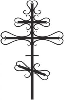 Крест с элементами ковки